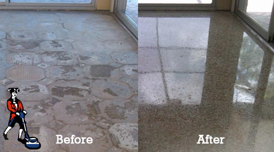 Terrazzo Cleaning Gallery - How to care for terrazzo floors